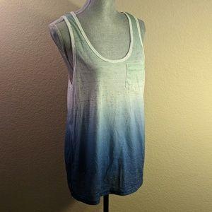 NWOT Brooklyn Cloth Mfg. Fade Dyed Tank